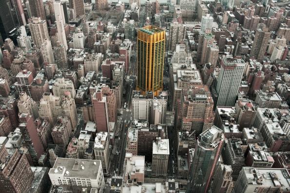 Skyscraper (II) from Empire State. Nueva York.  26 de diciembre del 2014.