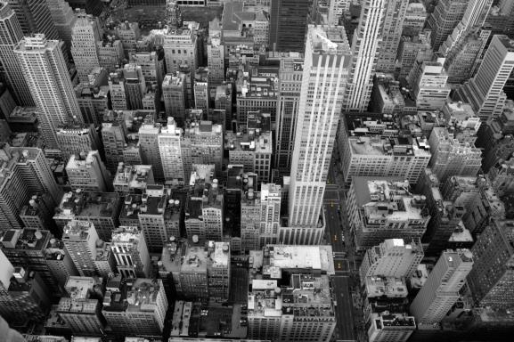 Skyscraper (II) from Empire State. Nueva York. 26 de diciembre del 2014