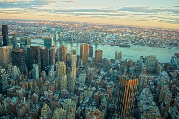 Desde el Empire State al Puente de Brooklyn.  2X del 2014.