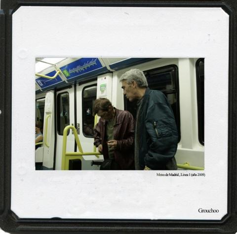 Dos toxicómanos en la Línea 1 del Metro de Madrid