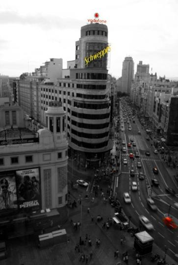 Edificio Schweeppes, Plaza Callao. Madrid
