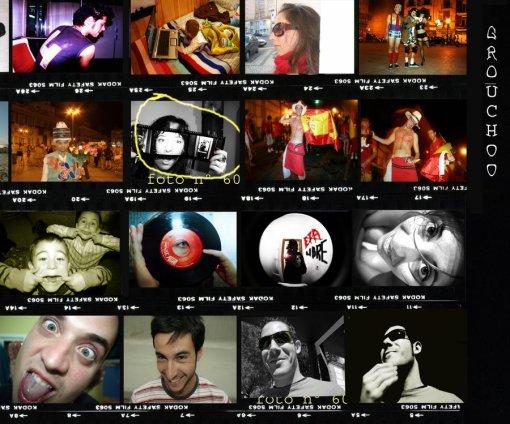 Collage Retratos I