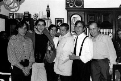 La familia de mi padre unas navidades de finales del 90.