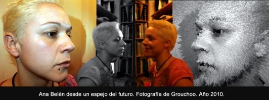 Ana Belén desde un espejo del futuro