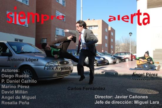 CARTEL SIEMPRE ALERTA,