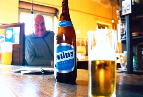 Como un anuncio de Cerveza Quilmes