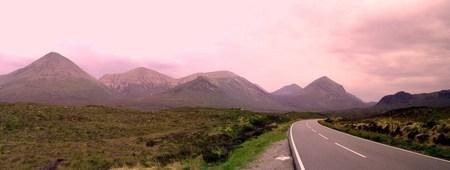 Panorámica de Cullins en la Isla de Skye 1, Escocia