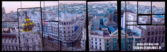 Collage Gran Vía, Edificio Metrópolis