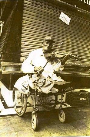 El Violinista de Las Ramblas