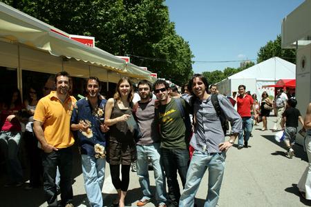 De izquierda a derecha: Child in Time, Montero Glez, Maria, Martín Sotelo, Daniel Carrillo y Carlos Fdez