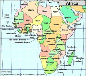 Africa´s Map