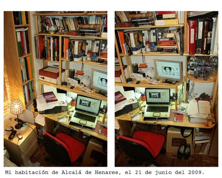Mi habitación de Alcalça de Henares, el 21 de junio del 2009.