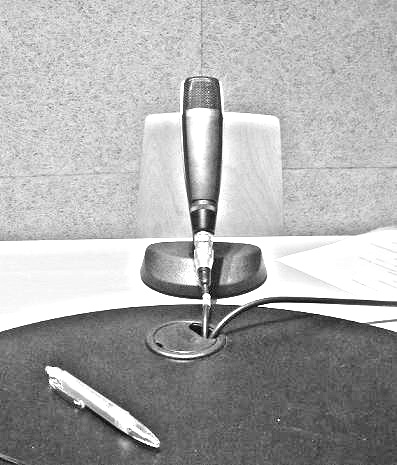 Micrófono en los estudios de la RUAH