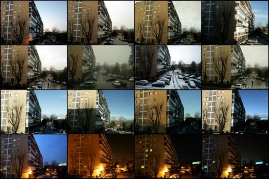 Desde mi terraza de Parque Los Nogales Diciembre del 2009- Enero 2010