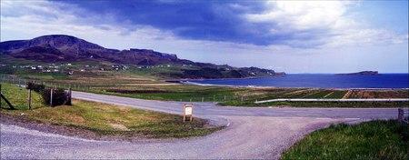 Panorámica de la Isla de Skye, Escocia