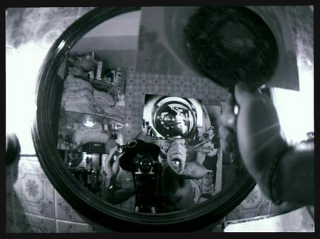 The Beatles en el cuarto de baño de mi casa