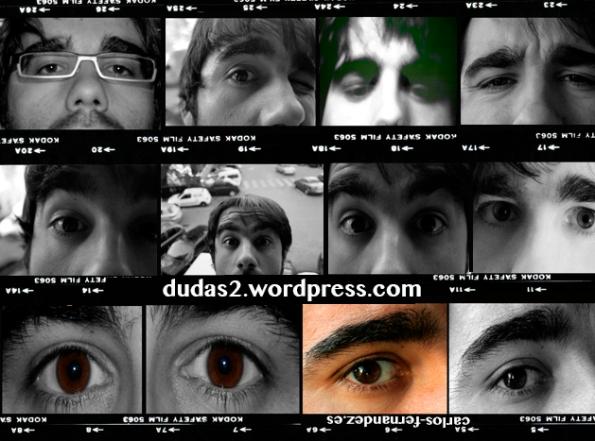 Esos ojos marrones