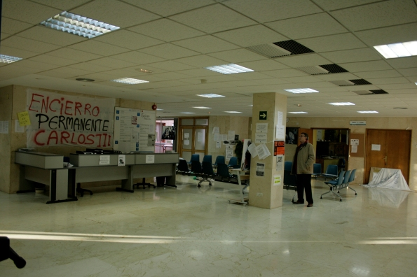 Hospital Carlos III de Madrid, diciembre del 2013.