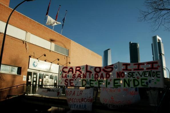 Hospital Carlos III, Madrid, diciembre del 2012.