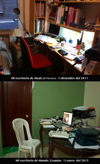 Mi escritorio