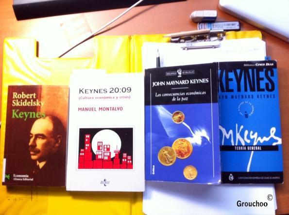 Libros para la tesis Keynes y las crisis económicas