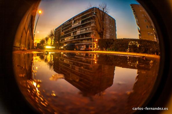 Barrio Parque Los Nogales, Alcalá de Henares. Madrid. España. Fecha 19/01/2013