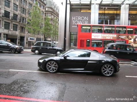 Mi coche preferido, Audi R8. Londres, agosto del 2011.