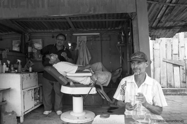 Barbero y talismán. 7 julio del 2013. Xipixapa.