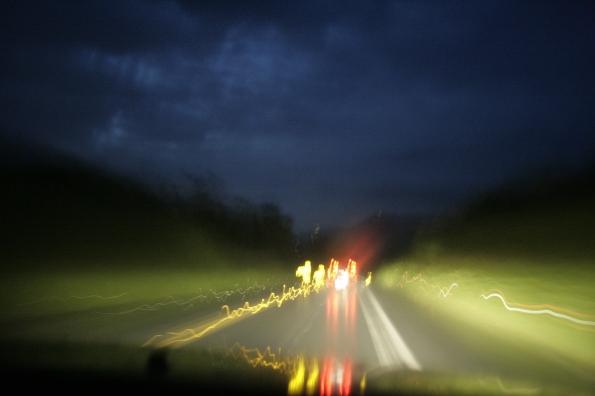 Luces y fugas, 15 de mayo del 2012. Carretera de Manabí. Manta-Jipijapa