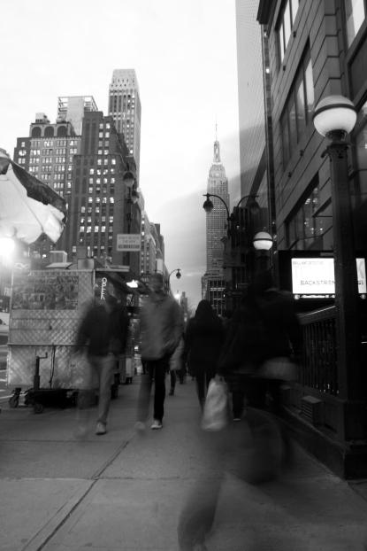 11. Caminando por Manhattan.