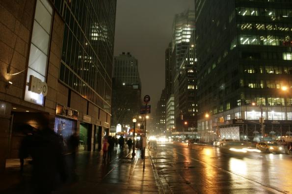 11. La noche e n Nueva York
