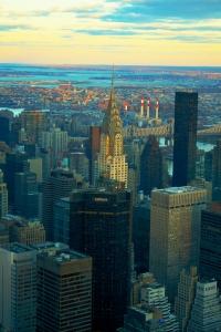 Edificio Chrysler desde el Empire State, Nueva York. 26 del 12 del 2015