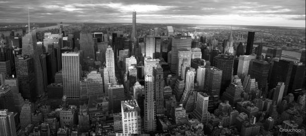 Panorámica de Manhattan desde el Empire State, Nueva York. 26 del 12 del 2015