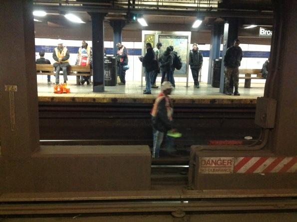 Metro de NY, diciembre del 2015