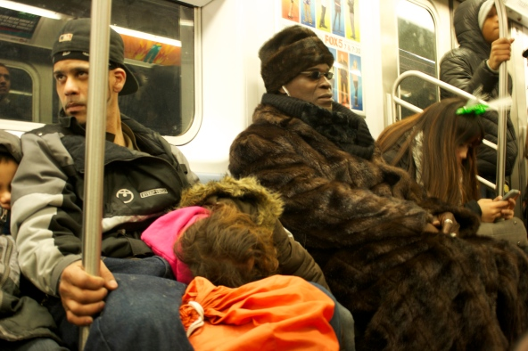 Por el metro de Nueva York